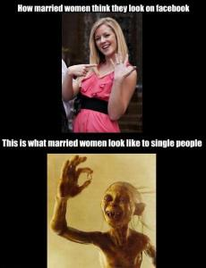 How-married-women-look-on-facebook..